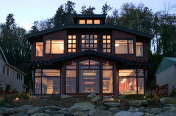 Rockaway Beach, Bainbridge Island Home