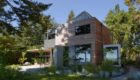 LEED Platinum new construction, Bainbridge Island